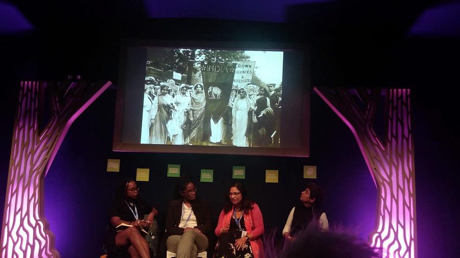 Akwugo EmejuluwithDjamila Ribeiro,Heidi Safia MirzaandSara Wajid, bookfestival