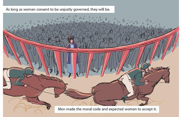 Graphic novel of Women