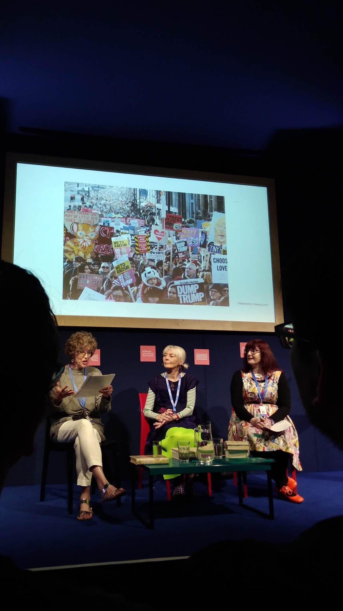 Diane Atkinson and Jane Robinson – book festival