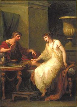 255px-Angelica Kauffmann, Circe enticing Odysseus