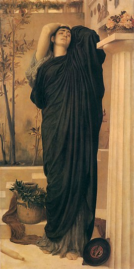 Electra 1869_Frederic_Leighton_-_Electra_at_the_Tomb_of_Agamemnon